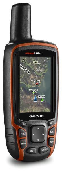 GPSMAP 64s Kartenseite