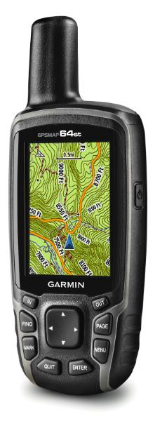 GPSMAP 64st Kartenseite