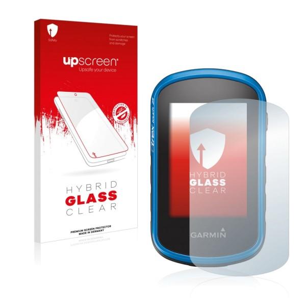 upscreen Hybrid Glass Clear Premium Panzerglasfolie für eTrex Touch