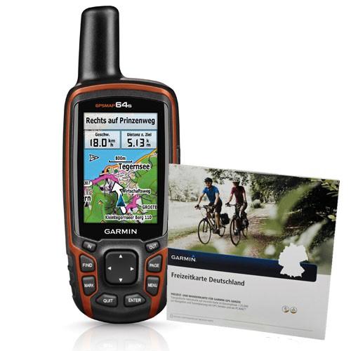 Garmin GPSMAP 64s inkl. Freizeitkarte