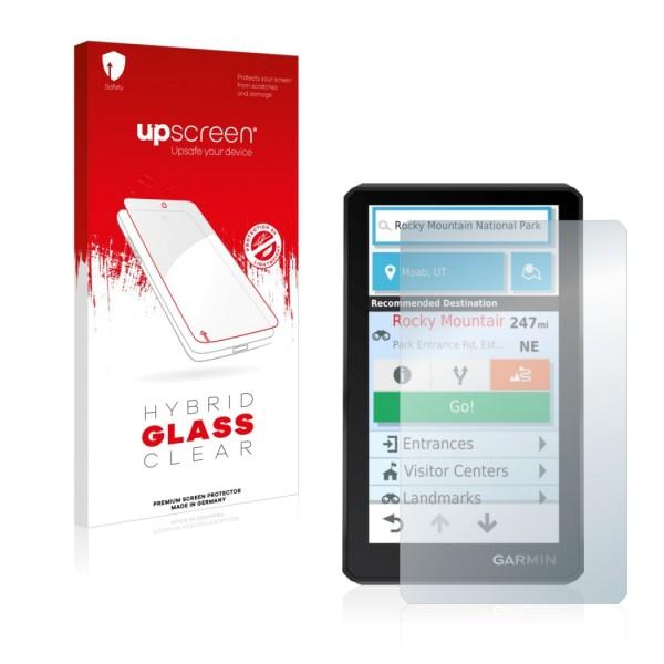 upscreen Hybrid Glass Clear Premium Panzerglasfolie für zumo XT