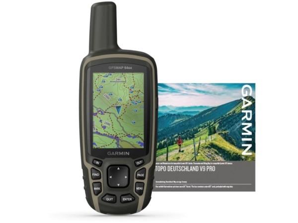 GPSMAP 64SX TOPO DEUTSCHLAND V9 PRO