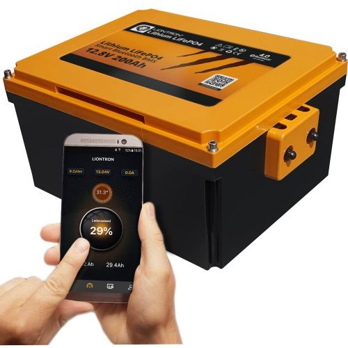 LIONTRON 12,8V 200Ah Wohnmobil-Untersitz-Batterie