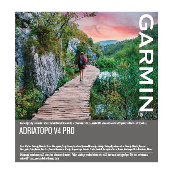 Garmin Adria TOPO v4 PRO microSD-SD Karte