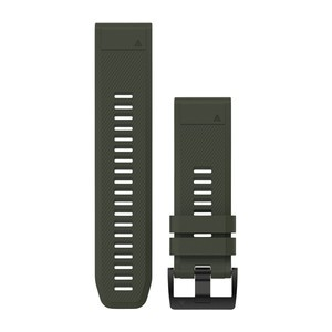 Garmin QuickFit 26-Uhrenarmband - Moosgrün - Silikon