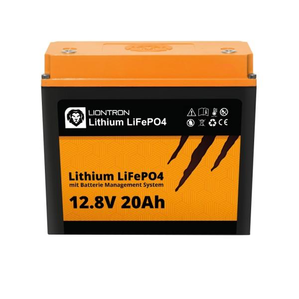 LIONTRON Lithium LiFePO4 LX mit BMS 12,8V 20Ah