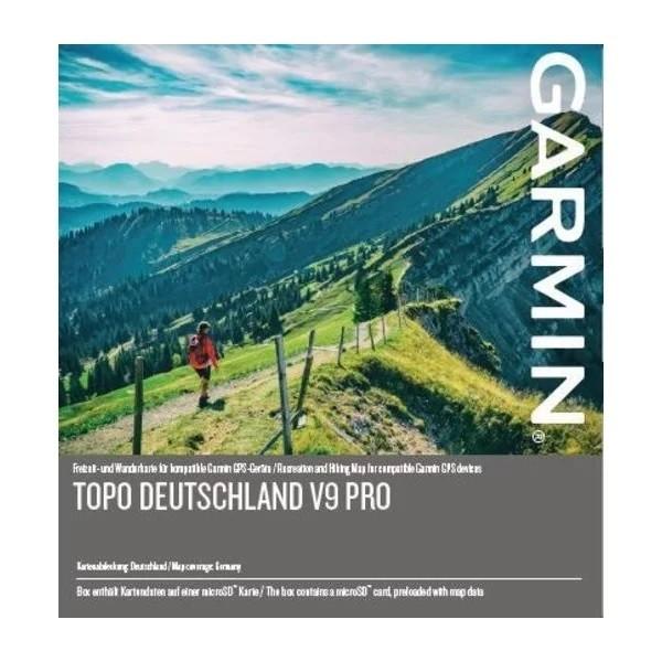 Garmin TOPO Deutschland v9 PRO - microSD/SD