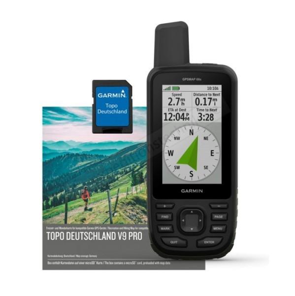 Set Garmin GPSMAP 66s inkl. Topo Deutschland V9 Pro