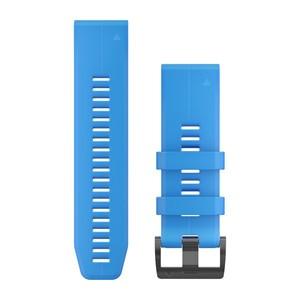 Garmin QuickFit 26-Armband - Hellblau Schnalle in Schwarz