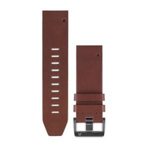 Garmin QuickFit 22-Uhrenarmband - Braun - Leder
