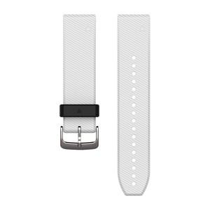 Garmin QuickFit 22-Uhrenarmband - Weiß - Silikon