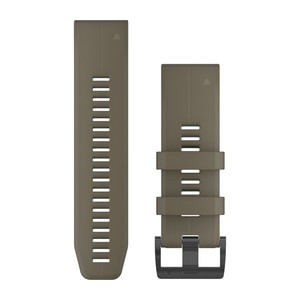 Garmin QuickFit 26-Armband - Olivgruen Schnalle in Schwarz