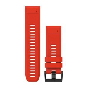 Garmin QuickFit 26-Uhrenarmband - Feuerrot - Silikon