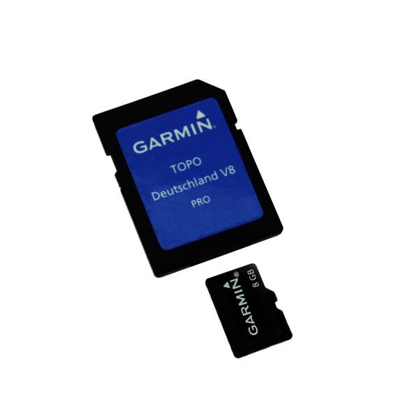 Garmin TOPO Germany v8 PRO - microSD/SD