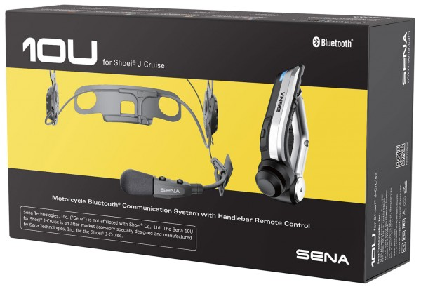 SENA 10U Headset für Shoei J-Cruise