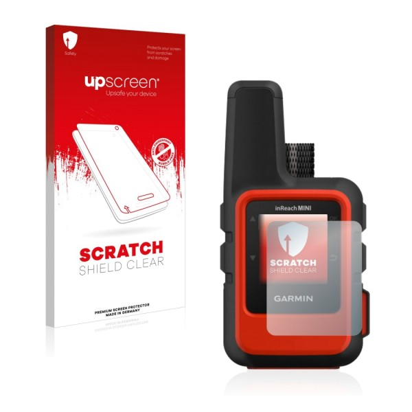 upscreen Scratch Shield Clear Premium Displayschutzfolie für inReach Mini