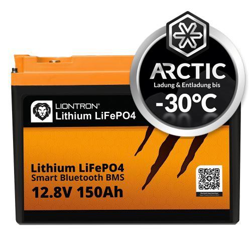 LIONTRON Lithium LiFePO4 LX Arctic BMS 12,8V 150Ah