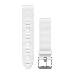 Garmin QuickFit 20-Uhrenarmband - Weiß - Silikon