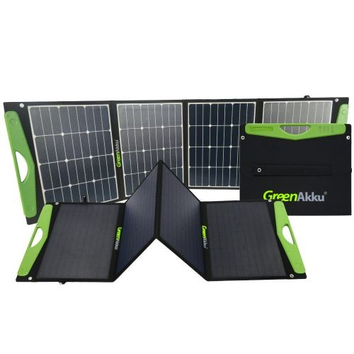 GreenAkku Solartasche 120Wp SUNPOWER