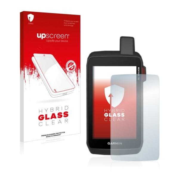upscreen Hybrid Glass Clear Premium Panzerglasfolie für Montana 700