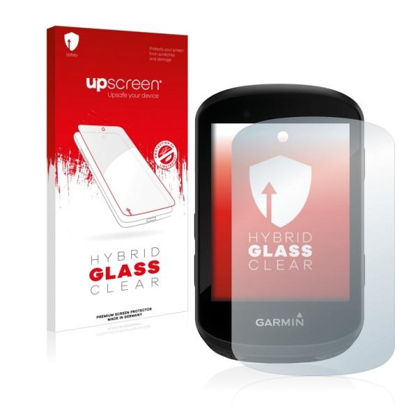 upscreen Hybrid Glass Clear Premium Panzerglasfolie für Edge 830