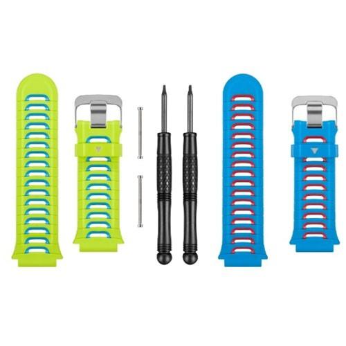 Garmin Ersatzarmbänder Blau und Grün - Forerunner 920XT