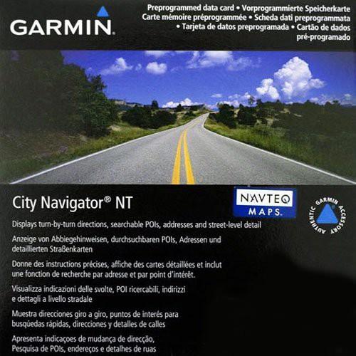Garmin City Navigator NT Benelux + Frankreich - microSD/SD Karte