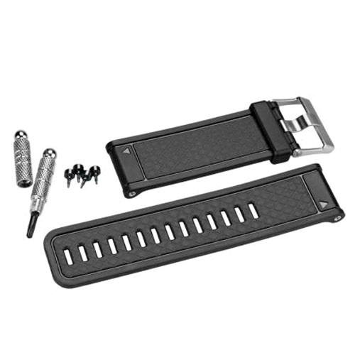 Garmin Silikon Armband schwarz - fenix - quatix