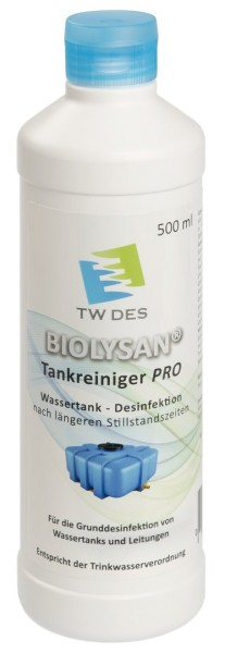 BIOLYSAN® Tankreiniger PRO 500 ml - Desinfektion Trinkwassertank
