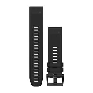 Garmin QuickFit 22-Uhrenarmband - Schwarz - Silikon