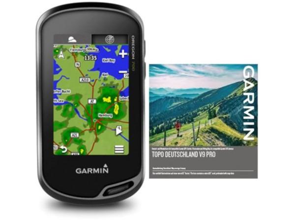Set Garmin Oregon 700 inkl. Topo Deutschland V9 Pro