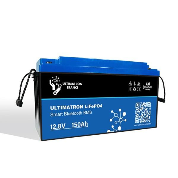 ULTIMATRON LiFePO4 12,8V 150Ah Lithium Akku mit Smart BMS 1920Wh