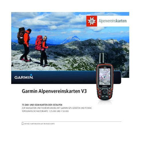 Garmin Alpenvereinskarten V3 - microSD/SD Karte
