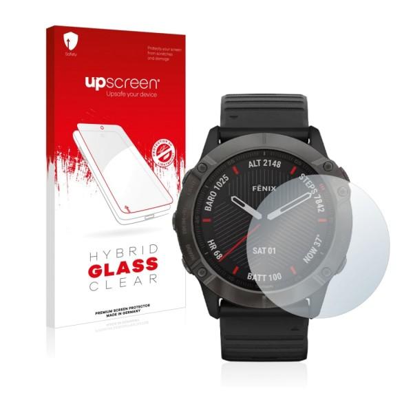 upscreen Hybrid Glass Clear Premium Panzerglasfolie für 35,5mm Display