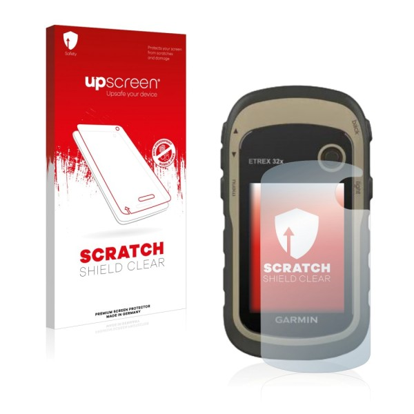 upscreen Scratch Shield Clear Premium Displayschutzfolie für eTrex 32x