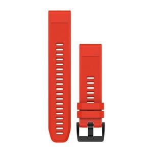 Garmin QuickFit 22-Uhrenarmband - Feuerrot - Silikon