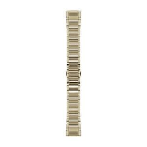 Garmin QuickFit 20-Uhrenarmband - Goldfarben - Edelstahl