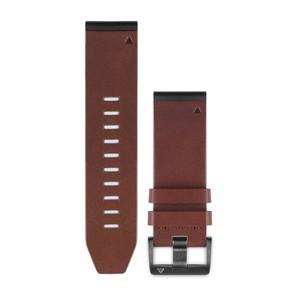 Garmin QuickFit 26-Uhrenarmband - Braun - Leder