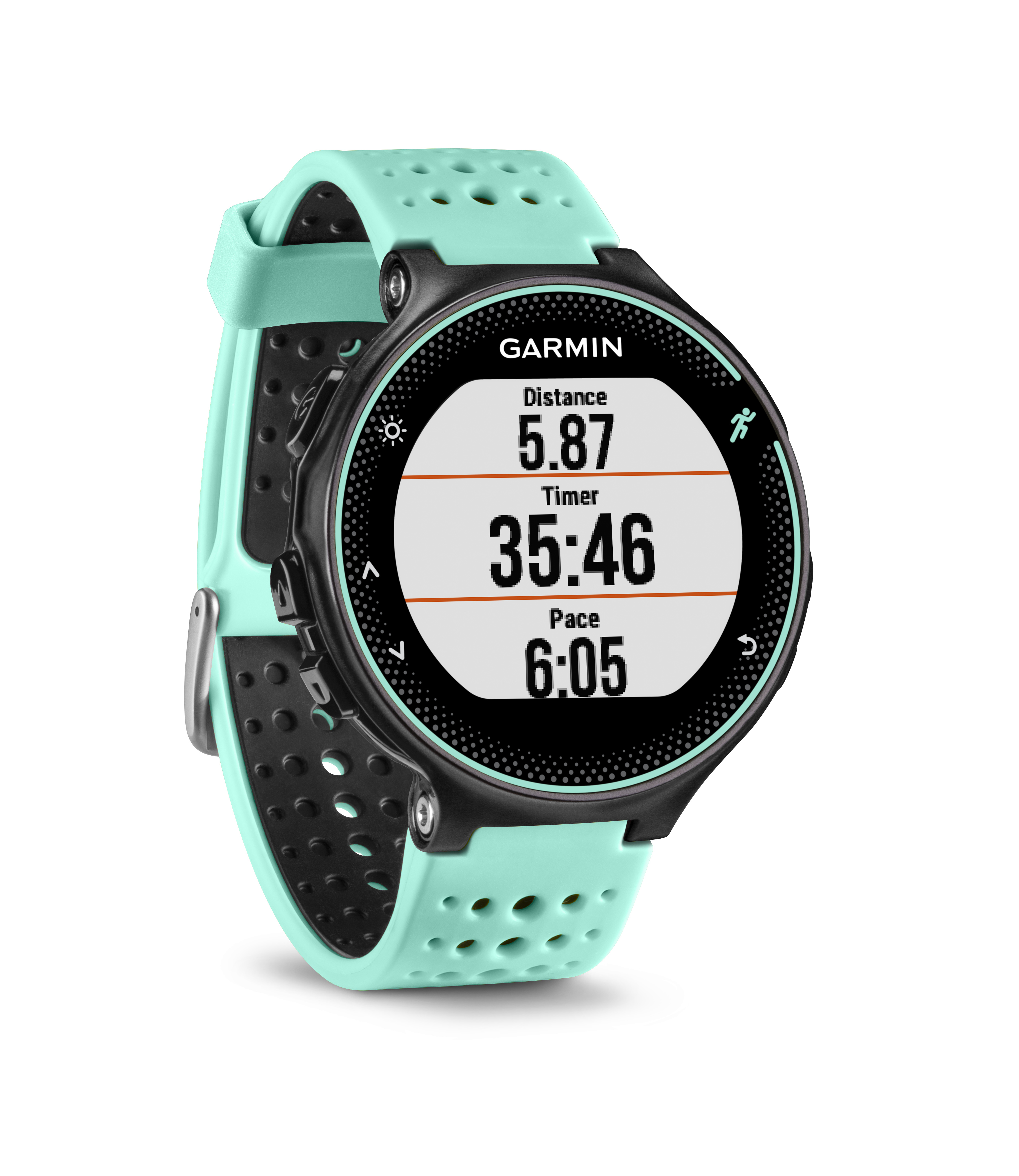 garmin forerunner 235 schwarz frostblau pulsmessung am. Black Bedroom Furniture Sets. Home Design Ideas