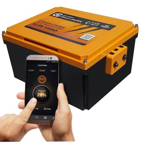 LIONTRON 12,8V 150Ah Wohnmobil-Untersitz-Batterie