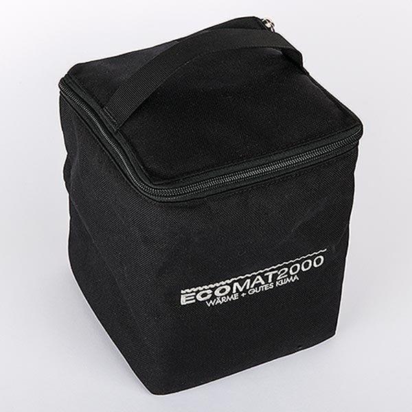 Transporttasche, gepolstert, schwarz für Ecomat 2000