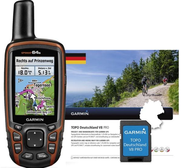 GPSMAP 64s inkl. Topo Deutschland Pro