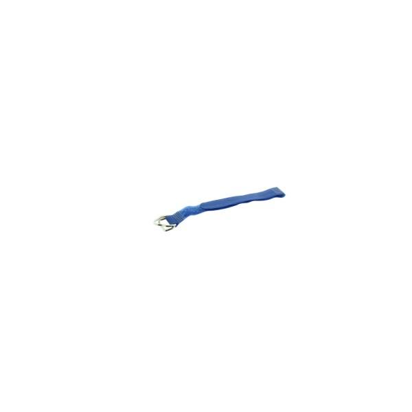 KALLE Klett Kabelbinder blau