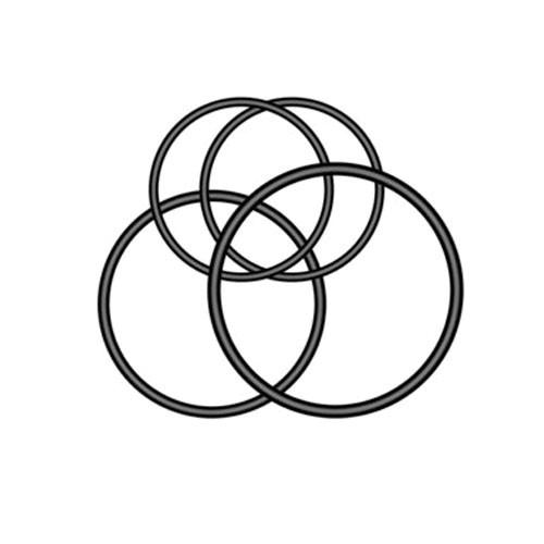 Garmin O-Ringe für Universalhalterung Varia