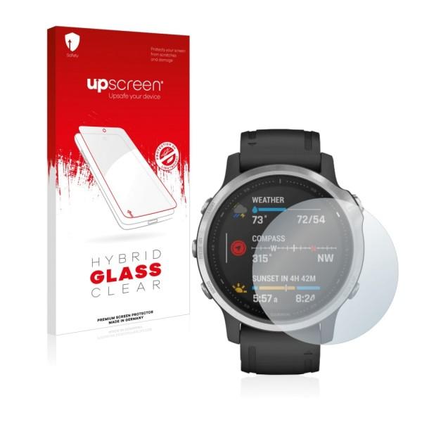 upscreen Hybrid Glass Clear Premium Panzerglasfolie für 30,4mm Display